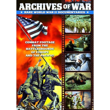 WWII - Archives of War: Rare World War II Documentaries, 1942-1951 (DVD) (Juicing Documentary)