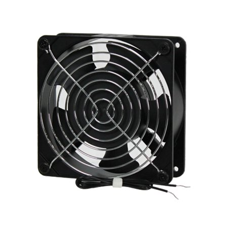Navepoint AC Fan Kit For Server Rack Cabinet Computer Case 12 cm, 110V ()