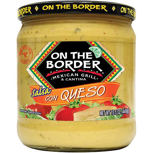 On The Border Mexican Grill & Cantina Salsa Con Queso, 15.5 oz