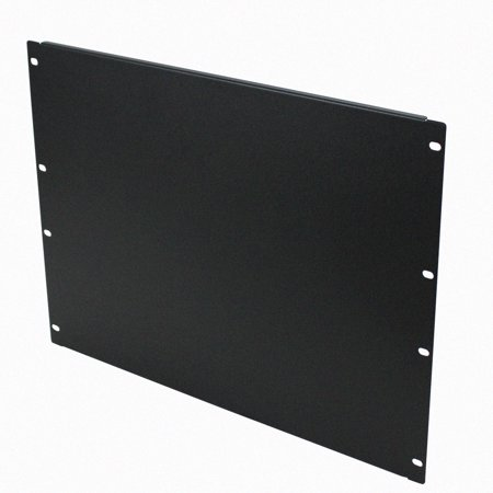 Navepoint 8U Blank Rack Mount Panel Spacer  For 19-Inch Server Network Rack Enclosure Or Cabinet Black