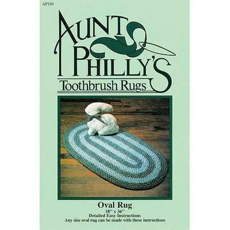 oval toothbrush rug instructions