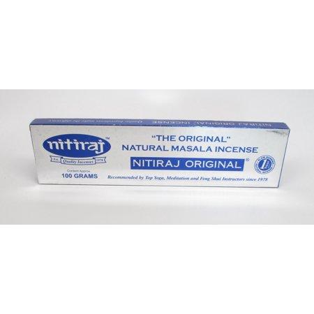 Original 100 Gram - Nitiraj Incense From India ()