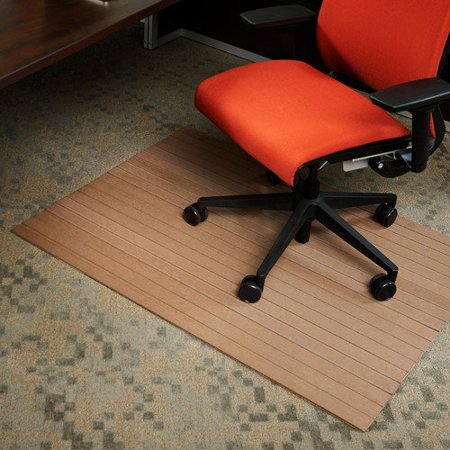 Wildon Home Low Pile And Hardwood Composite Office Chair Mat