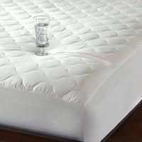 Quiet Comfort Waterproof Mattress Pad-Newpoint International Inc.-White-Twin