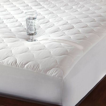 Quiet Comfort Waterproof Mattress Pad-Newpoint International Inc.-White-Twin Comfort Mattress Pad
