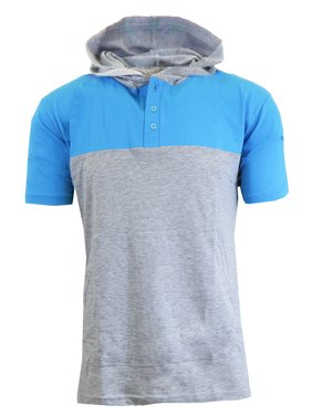 292ae119d Free shipping. Product Image Men's Short Sleeve Slim-Fit Pullover Hoodie
