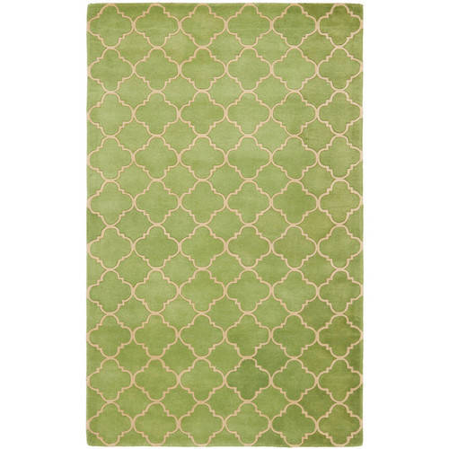 Safavieh Chatham Connor Hand-Tufted Wool Area Rug, Green