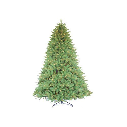 7.5' Pre-Lit Glacier Fir Artificial Christmas Tree - Clear Lights
