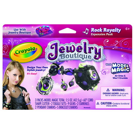 Crayola Model Magic Jewelry Kit  Refill  Craft Kit For Kids  Gift
