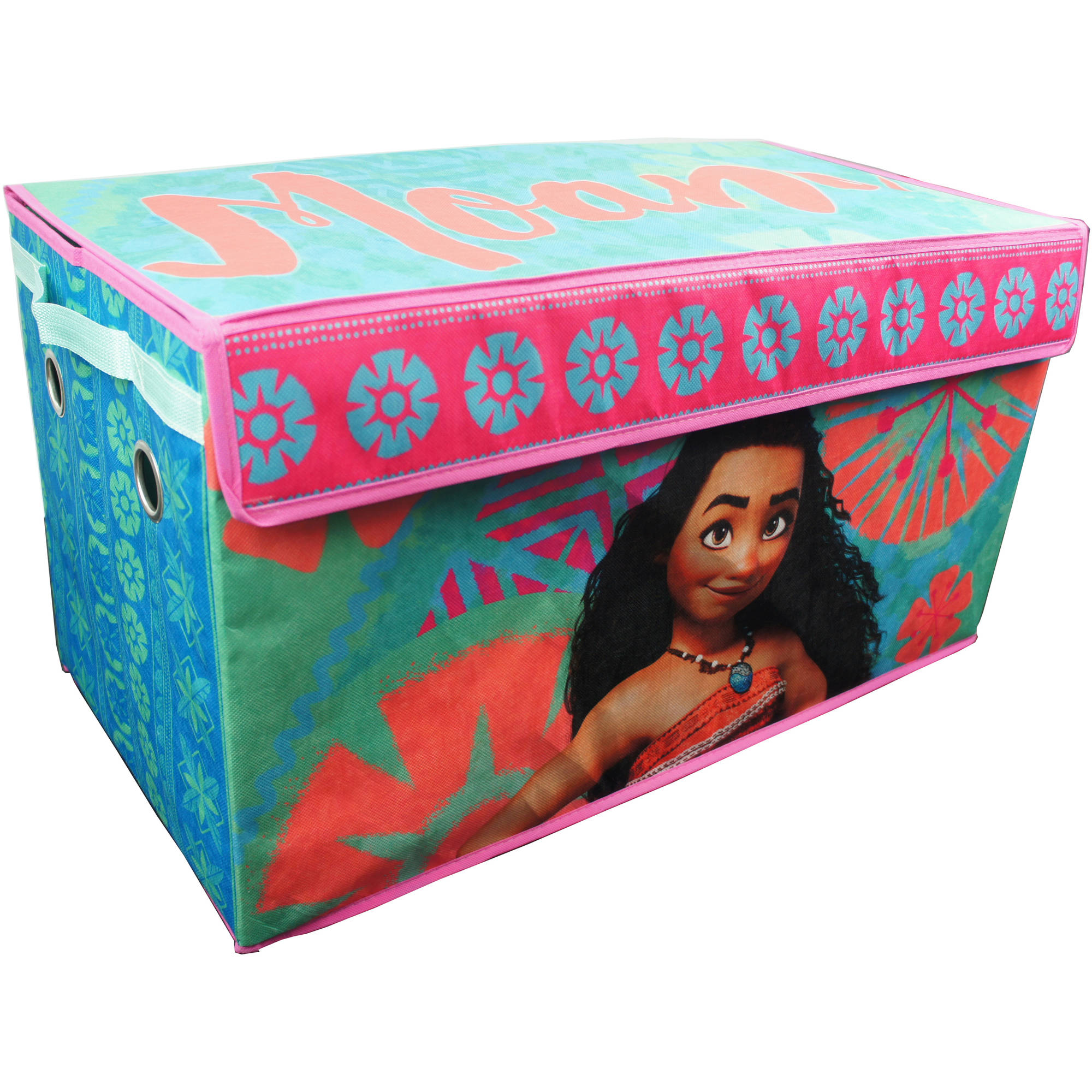 Disney Moana Oversized Collapsible Storage Play Trunk