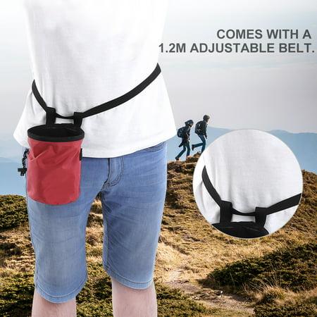 Anauto Magnesium Powder Bag Magnesium Powder Bag for Outdoor Rock Climbing Gymnastics Pole Dance (Gymnastic Bags)