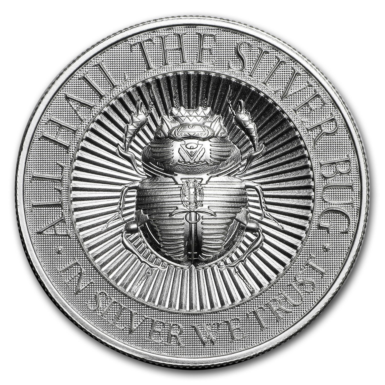 2 ounce UHR Silver Round SCARAB The Silver Bug