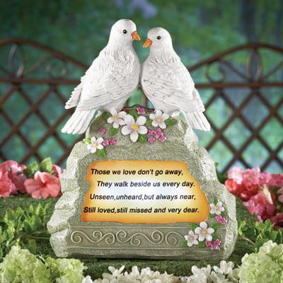 Solar Doves Memorial Garden
