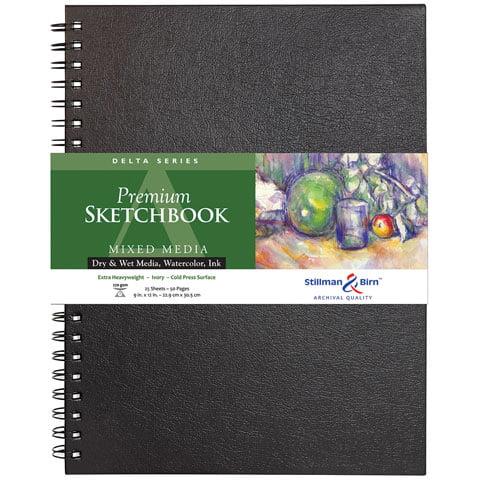 """Stillman & Birn - Delta Series Premium Hard-Bound Sketch Book - 6"""" x 8"""""""