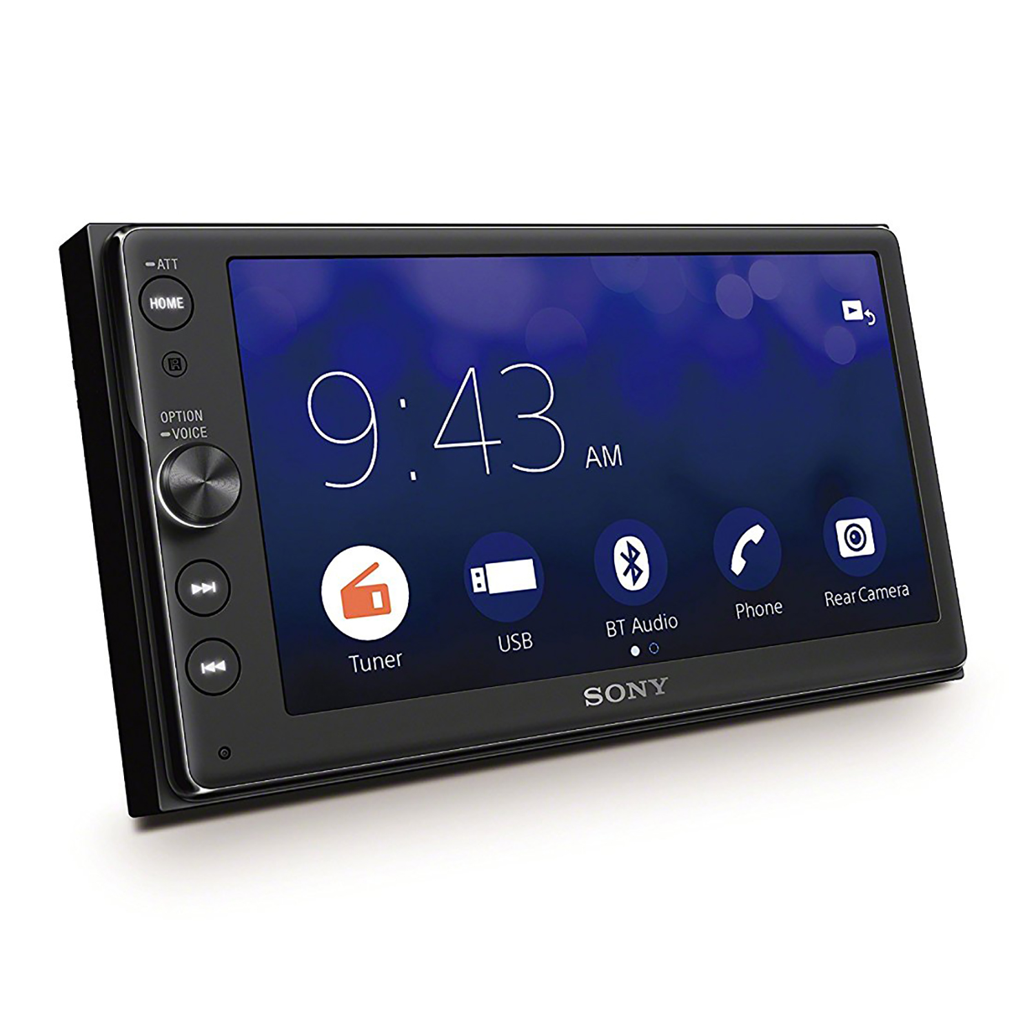 "Sony 6.4"" Touchscreen Double Din Bluetooth Car Audio Media Receiver 