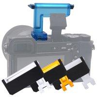 Anauto Camera Diffuser, Diffuser for Camera,Mcoplus 4 Colors Cameras Flash Diffuser for Sony Camera A6000/A6500/A6300