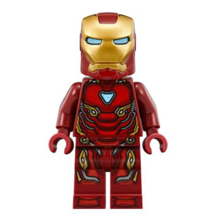 LEGO Marvel Avengers: Infinity War Iron Man Minifigure [No Packaging] (Lego Characters Minifigures)