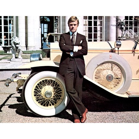 Stretched Canvas Art - Great Gatsby - Medium 20 x 16 inch Wall Art Decor Size.