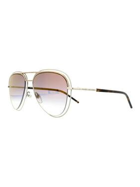 9e5d9e8353 Product Image MARC JACOBS Sunglasses MARC 7 S 0TWM Palladium   Gold 54MM