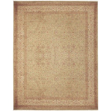 Due Process Stable Trading Kalasha Emogli Khaki & Cream Area Rug, 9 x 12 ft. - image 1 of 1