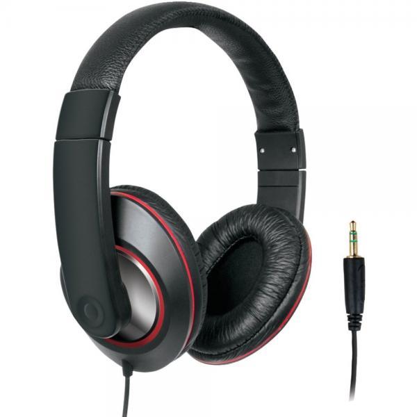 DREAMGEAR DGHP-4006 Ultimate DJ-Style Headphones (Black)