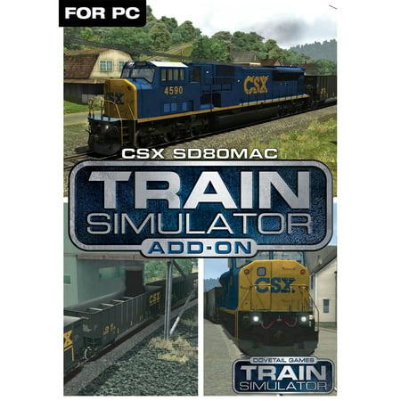 Train Simulator Add-On - CSX SD80MAC (PC)(Digital (Best Train Games For Pc)