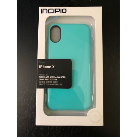 new concept 2c12e 61574 Incipio Haven LUX for iPhone XS and iPhone X - Turquoise