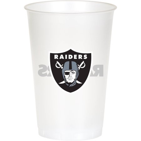 Oakland Raiders Pins (Oakland Raiders Cups, 8-Pack )