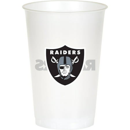 Oakland Raiders Cups, 8-Pack