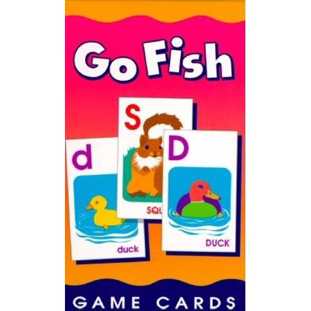 Game Card: Go Fish Alphabet Game Cards: Game Cards -