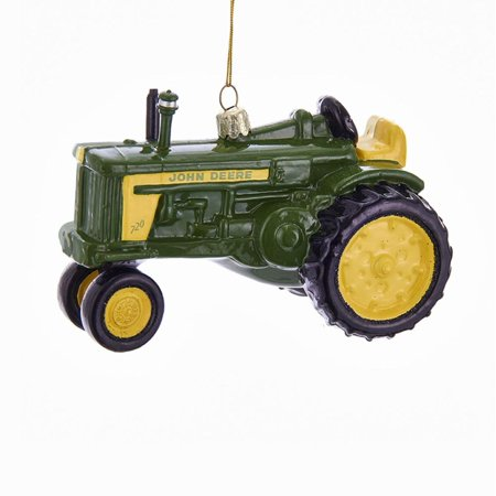 """Pack of 6 Green and Yellow John Deere Tractor Ornaments Christmas  Decorations 5"""" - Pack Of 6 Green And Yellow John Deere Tractor Ornaments Christmas"""