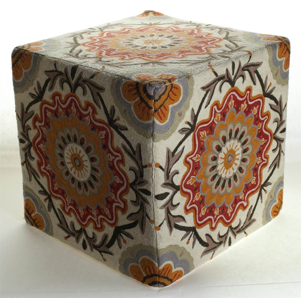Momeni Chainstitch Ottoman by Momeni
