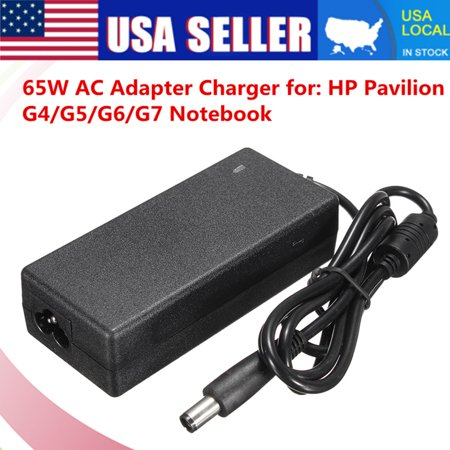 Original HP 18.5V 3.5A 65W HP AC Adapter HP Laptop Charger HP Power Cord for HP pavilion g4 g5 g6 g7 (Hp Pavilion G7 1219wm Notebook Pc Drivers)
