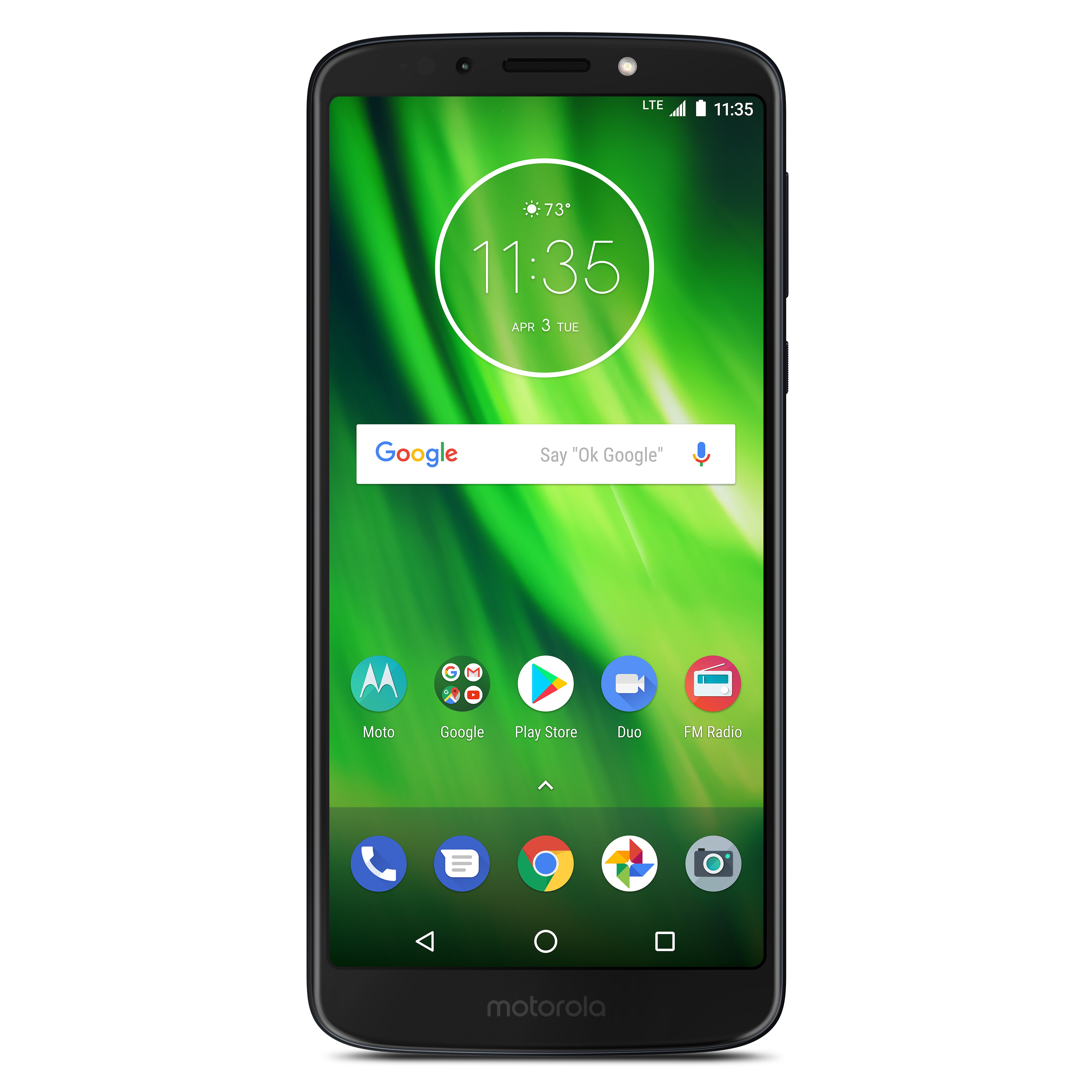 Boost Mobile Motorola Moto G6 Play 32GB Prepaid Smartphone, Black