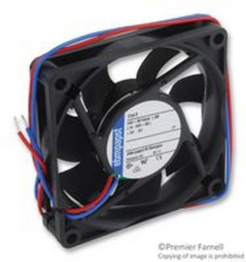 Brand New No. 86K9922 Ebm Papst 714F Axial Fan 70Mm 24Vdc 70mm x 70mm x 15mm