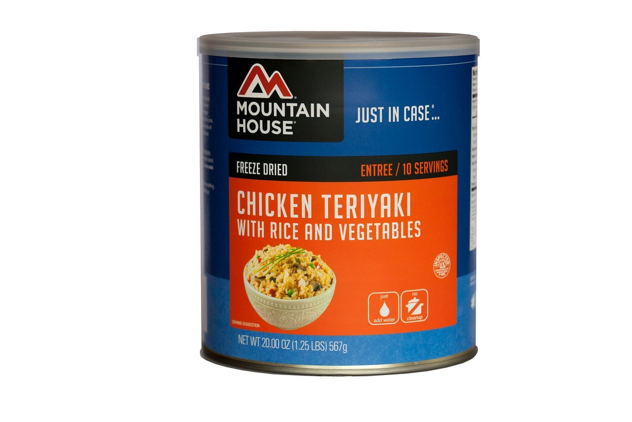 Chicken Teriyaki with Rice # 10 CAN, Ship from USA, Brand Mountain House by