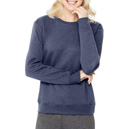 Hanes Women's Essential Crewneck Fleece Pullover Sweatshirt