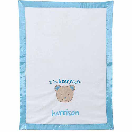 Personalized Sandra Magsamen I'm Berry Cute Boy's Blanket