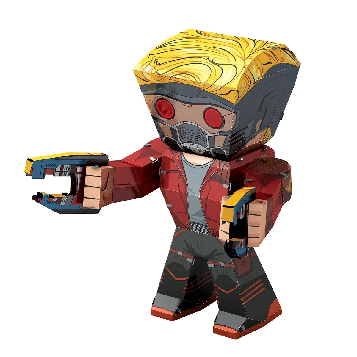 Fascinations Metal Earth Marvel Guardians of the Galaxy Star-Lord 3D Metal Model Kit