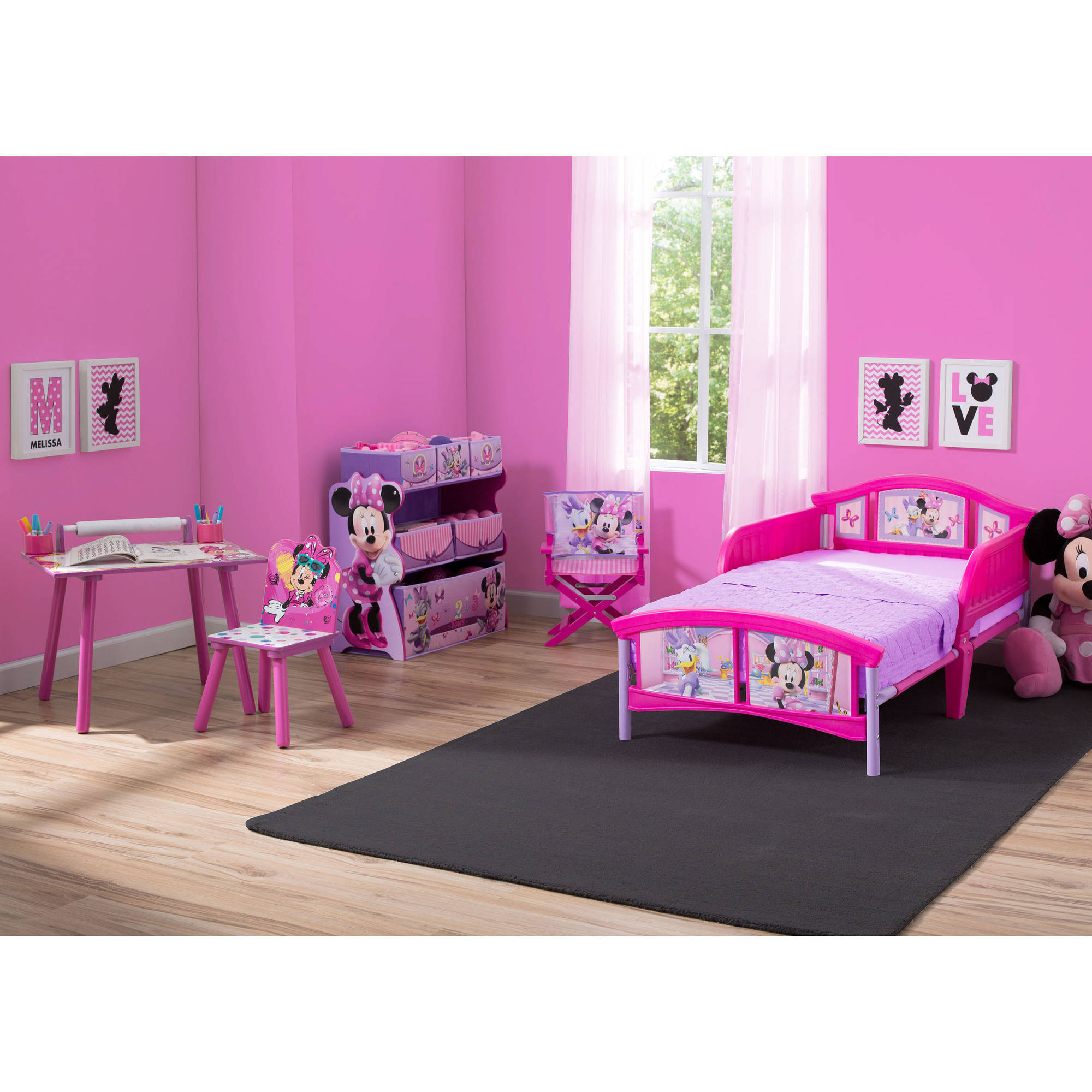 sc 1 st  Walmart & Disney Minnie Mouse Room-in-a-Box with Bonus Chair - Walmart.com