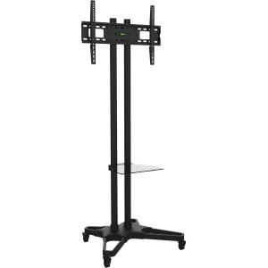 """Ematic Black Mobile TV Stand and Mount for 37""""-55"""" Screens by Ematic"""