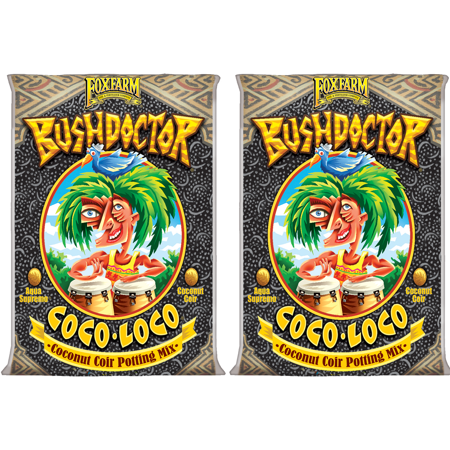 FoxFarm FX14100 Bush Doctor Coco Loco Plant Garden Potting Soil Mix (2 (Butterfly Bush Soil)