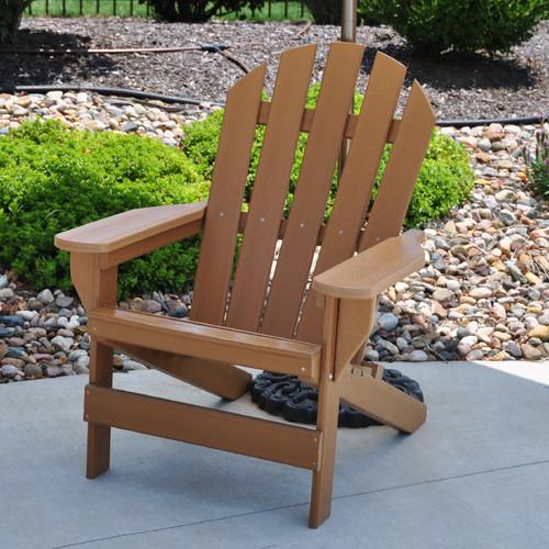 Frog Furnishings Plastic Adirondack Chair