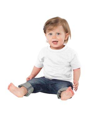 Precious Cargo Infant 5.4-oz 100% Indispensable Cotton T-Shirt_White_12 Months