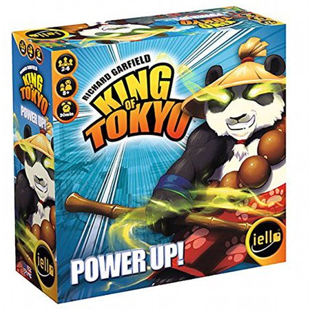 IELLO King of Tokyo: Power Up (New Edition) Board Game