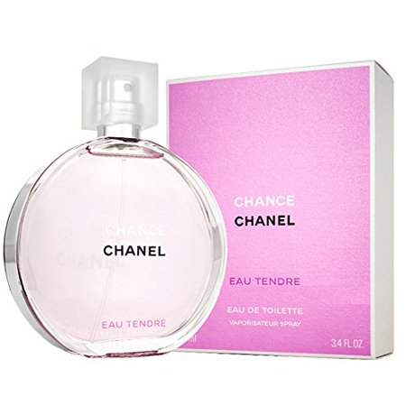 Chânel Eau Tendre Eau De Toilette for Women, EDT 3.4 fl oz 100 ml