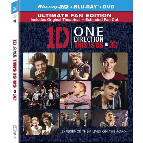 ONE DIRECTION-THIS IS US (BLU-RAY/DVD COMBO/3-D/ULTRAVIOLET/3 DISC) (3-D)