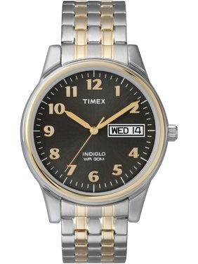 Timex Men's Charles Street Two-Tone Expansion Band Watch