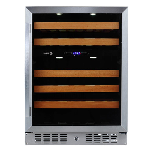 Fagor 46 Bottle Dual Zone Convertible Wine Cooler