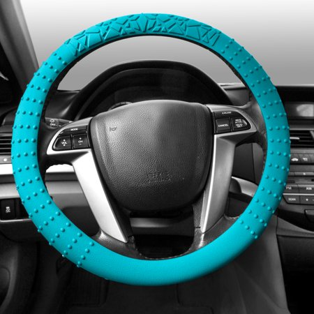 Golf Steering Wheels (FH Group, Silicone Steering wheel cover 14 Colors Nibs Sturdy Massage Grip, Steering)